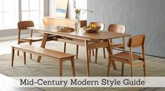Mid-Century Modern Style Guide from Homemakers Furniture