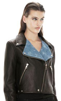 Love this jacket! ACNE Studios - Rita Denim Black
