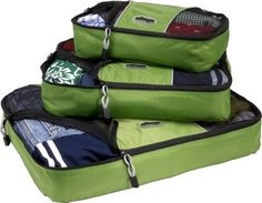 eBags Packing Cubes - 3pc Set Grasshopper - via eBags.com! I hear these are GREAT!! Good graduation gift too!