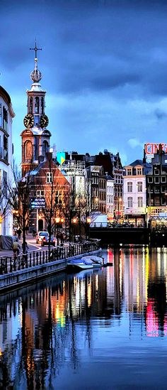 ✈˚ ★ See The World Travel Map ♦ ***Amsterdam, Netherlands***