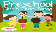 Circle Time Songs for Preschool | 12 Learning Songs for Kids  #kidssongs