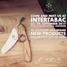 Come and meet us at #Intertabac Dortmund 22.-24. September 2017 and discover our new products! w/ @steven_cigale