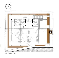 Image 28 of 31 from gallery of Nam Dam Homestay and Community House / 1+1>2 Architects. Floor Plan