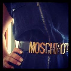 Photo by bodilsayreen  #moschino #mymoschino #belt
