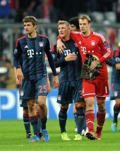 UCL 20130917: Bayern vs Moscow 3-0 Via: Your ultimate source on Tumblr about Manuel Neuer