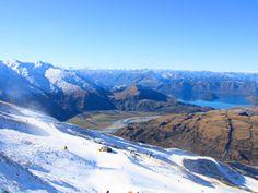 Trebble Cone Esqui na  Nova Zelandia (1)