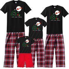 4cec566429 31 Best Unique Christmas Pajamas for Fun Families - sizes for the ...