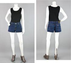 Ralph Lauren Polo Jeans Co Womens Size 8 Saturday Short Denim Jeans Shorts.