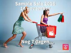 Trade Mart sample sale -- Utrecht -- 14/11