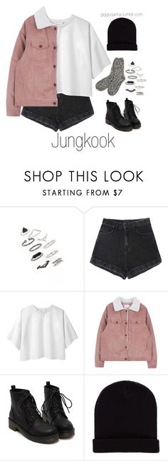"""Inspired Outfit for KCON // Jungkook"" by suga-infires ❤ liked on Polyvore featuring Topshop, 3.1 Phillip Lim, Pull&Bear and TNA"