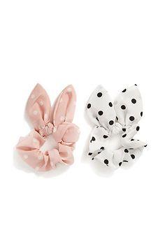 Polka Dot Hair Tie Set | FOREVER21 - 1000121087