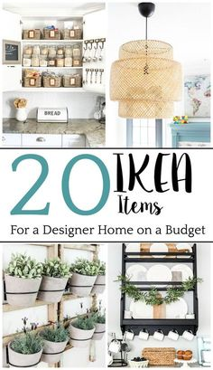 The Best IKEA Items for a Stylish Home on a Budget &;er House The Best IKEA Items for a Stylish Home on a Budget &;er House Daniela Döring Ikea The top […] for home bedroom organizing Ikea Decor, Decor Scandinavian, Best Ikea, Modern Farmhouse Style, Modern Country, Home And Deco, Küchen Design, Interior Design, Ikea Design