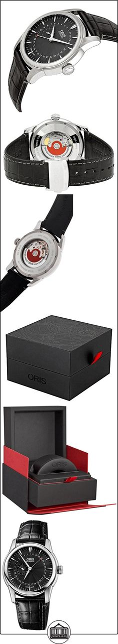 Oris Artelier Automatic Small Second Pointer Date Steel Mens Strap Watch 744-7665-4054-LS  ✿ Relojes para hombre - (Lujo) ✿ ▬► Ver oferta: http://comprar.io/goto/B00H2VNFD4