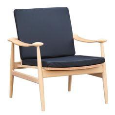 Fine Mod Imports FMI10109-black Vogel Lounge Chair, Black
