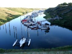 Marina in Elbow, SK. North Country, Coast, Canada, Explore, World, Places, Pictures, Travel, Beautiful