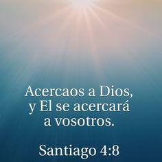 Acercaos a Dios Stg 4:8 #citascristianas #devocionales