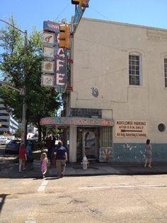 Mayflower Cafe, Jackson, Mississippi
