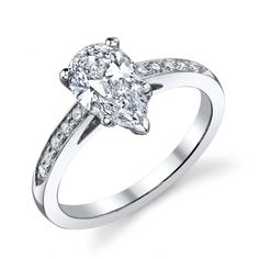 Diamond Engagement Ring (#d1-2215) - Engagement Rings Solitaire - Designer Engagement Rings, Fine Jewelry & More. Serving San Carlos, Redwood City, Belmont, Foster City, San Mateo & the entire bay area.