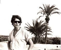 Yves Saint Laurent in Marrakech, Morocco, 1966.