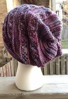 "Norie by Gudrun Johnston. malabrigo Rios in Lotus colorway. ""Color of the Year"""