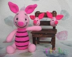 Mickey Mouse and the gang 6patterns Amigurumi by ChontichaDESIGN