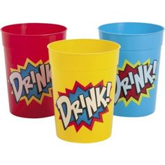 Shop for Superhero Plastic 10oz Tumblers (12 Pack) and other Individual party supplies. The most popular party Supplies and Decorations, all available at wholesale prices!
