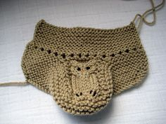 Owl Bootees in progress | Flickr - Photo Sharing!