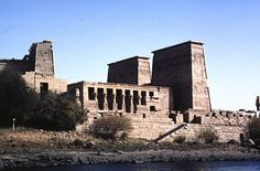 Temple of Isis, Philae, Egypt (been here, loved it. egypt is wonderful.) #egypt #philae #templeofisis