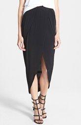 ASTR Tulip Hem Wrap Skirt