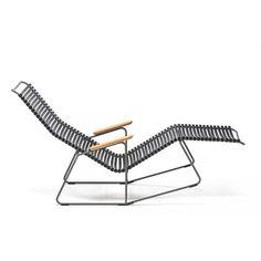 Chaise longue bain de soleil Click Pedersen, Henrik : Nouveau design Houe design - Design Ikonik