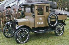 1918 Ford army truck