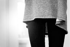 girl Black and White fashion perfect style skinny Legs thinspo thigh gap