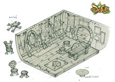 "Concept of the Dofus expansion ""Frigost 3""."
