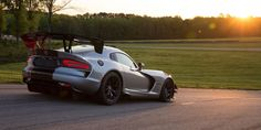 The Dodge Viper is about to be killed off, but that doesn't mean it's going away quietly. The Viper ACR just recently set a record at 13 different race tracks. There's a multitude of factors that go into making a car that fast around the track, but one of them is the downforce created by one of the largest wings you can buy on a factory car.