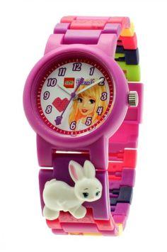 LEGO 9005190 – Reloj analógico de cuarzo para niña con correa de plástico, color morado | Your #1 Source for Watches and Accessories