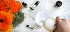 Make your own natural after-sun spray to relax and refresh your precious skin with calendula, aloe vera gel, hydrosols, and witch hazel. Organic Aloe Vera, Organic Herbs, After Sun Spray, Mountain Rose Herbs, Skin Food, Medicinal Herbs, How To Make Homemade, Aloe Vera Gel, Calendula