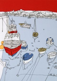 Boats at Appledore - Gillian Bates by gillian.bates, via Flickr