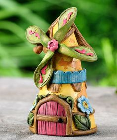 Look what I found on #zulily! Fairy Tale Windmill House Mini Figurine by Giftcraft #zulilyfinds