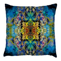 Timorous+Beasties+Marble+Damask+Cushion+-+100%+cotton+pile+indigo+blue+cushion+with+psychedelic+damask+design. Look+through+the+kaleidoscope+with+the+Timorous+Beasties+Marble+Damask+Cushion. Predominately+indigo+blue+in+colour,+this+inviting+cushion+features+a+psychedelic+interpretation+of+a+traditional+damask+wallpaper+with+a+contemporary+twist. Accented+by+mysterious+tones+of+saffron,+gold,+teal+and+purple,+it+is+woven+from+sumptuously+soft+100%+cotton+pile+and+will+inject+vivacious+per...