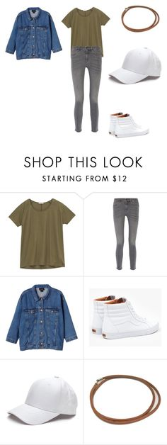 """Sk8ter"" by leenasudan ❤ liked on Polyvore featuring Lee, MiH Jeans, Monki, Vans and Hermès"