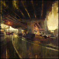 Pinturas de Jeremy Mann,pintor figurativo impresionista