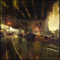 Jeremy Mann, 1979 ~ Cityscape/Figurative painter | Tutt'Art@ | Pittura * Scultura * Poesia * Musica |