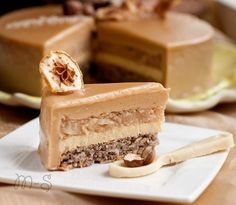 Торт Кальвадос | Мой сундучок No Bake Chocolate Desserts, Chocolate Raspberry Cheesecake, No Bake Desserts, Easy Desserts, Baking Desserts, Frosting Recipes, Cake Recipes, Dessert Recipes, Torte Cake