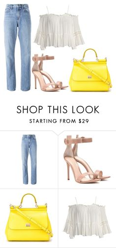 """""""jhkjlk."""" by v-askerova on Polyvore featuring мода, Helmut Lang, Gianvito Rossi, Dolce&Gabbana и Sans Souci"""