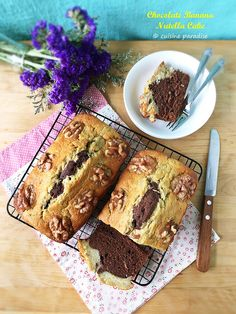 This Chocolate Banana Nutella Pound Cake includes mashed banana, Dutch-processed cocoa powder and Nutella for a more chocolatey taste.