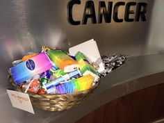 Tissues, chap stick, lotion, mints, encouraging books, cards, for chemo patients Join Sparks of Kindness https://www.facebook.com/groups/747076662042246/?ref=bookmarks #randomactsofkindness #sparksofkindness