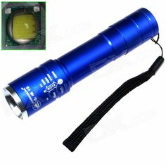 ZHISHUNJIA B-T40L LED 720lm 5-Mode Zooming Flashlight - Blue (1 x 18650). . Tags: #Lights #Lighting #Flashlights #LED #Flashlights #18650 #Flashlights