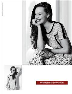 Comptoir des Cotonniers, la campagna pubblicitaria primavera estate 2013: il French way of life #campaign #fashion #comptoirdescotonniers #collection