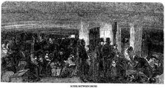 By the end of 1847, the awful toll could be calculated from the 200 immigrations ships that had made the crossing. Of 98,105 passengers (of whom 60,000 were Irish), 5293 died at sea, 8072 died at Grosse Isle and Quebec, 7,000 in and above Montreal. In total, then, at least 20,365 people perished (the numbers of those that died further along in their journey from illnesses contracted on the coffin ships cannot be ascertained) – one-third of each vessel's passenger list.