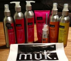 Muk Hair products.. BEST for Hair Extensions! Who wants?! <3